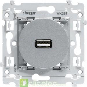 kallysta Prise USB WK265 Hager Kallysta Hager