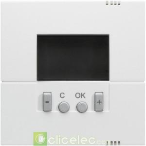 Kallysta Enjo. thermostat program Blanc WK793B Hager Kallysta Hager