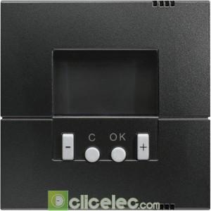 Kallysta Enjo. thermostat progr Carbone WK793C Hager Kallysta Hager