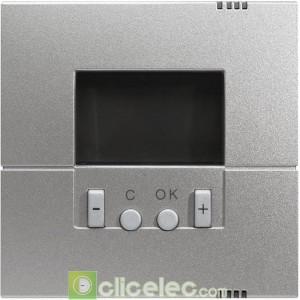Kallysta Enjo. thermostat program Titane WK793T Hager Kallysta Hager