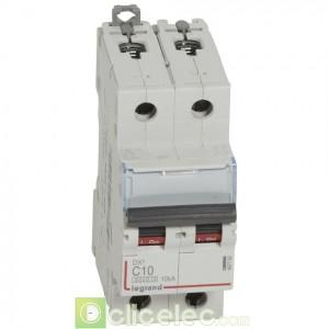 DX3 2P C10 6000A/10KA 407782 Legrand Disjoncteurs PH+N