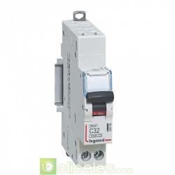 Disjoncteur DNX3 1P+NG C32 4500A AUTO 1M 406786 Legrand