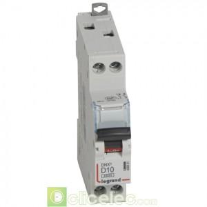 DNX3 1P+NG D10 4500A 1M 406801 Legrand Disjoncteurs PH+N