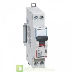 Disjoncteur DNX3 1P+NG D20 4500A 1M 406803 Legrand
