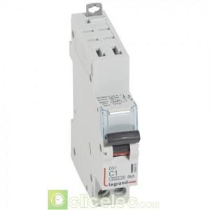 DX3 1P+NG C1 4500A/6KA AUTO 406875 Legrand Disjoncteurs PH+N