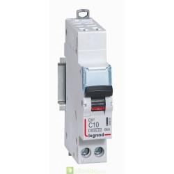 Disjoncteur DX3 1P+NG C10 4500A/6KA AUTO 406881 Legrand
