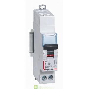 DX3 1P+NG C10 4500A/6KA AUTO 406881 Legrand Disjoncteurs PH+N