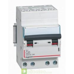 Disjoncteur DX3 4P C20 4500A/6KA AUTO 406920 Legrand