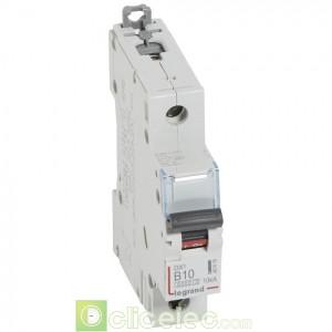 DX3 1P B10 6000A/10KA 407416 Legrand Disjoncteurs PH+N