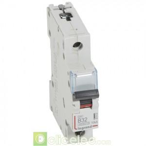 DX3 1P B32 6000A/10KA 407420 Legrand Disjoncteurs PH+N