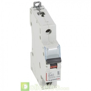 DX3 1P B40 6000A/10KA 407421 Legrand Disjoncteurs PH+N