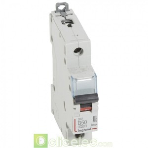 DX3 1P B50 6000A/10KA 407422 Legrand Disjoncteurs PH+N