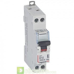 DX3 1P+NG B10 6000A/10KA 407454 Legrand Disjoncteurs PH+N