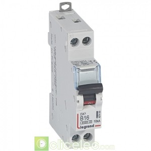 DX3 1P+NG B16 6000A/10KA 407455 Legrand Disjoncteurs PH+N