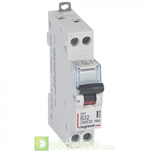 DX3 1P+NG B32 6000A/10KA 407458 Legrand Disjoncteurs PH+N