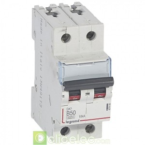DX3 2P B50 6000A/10KA 407499 Legrand Disjoncteurs PH+N