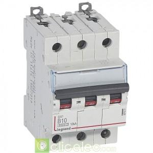 DX3 3P B10 6000A/10KA 407531 Legrand Disjoncteurs PH+N