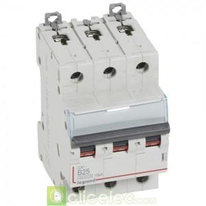 DX3 3P B25 6000A/10KA 407534 Legrand Disjoncteurs PH+N