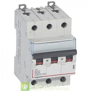 DX3 3P B32 6000A/10KA 407535 Legrand Disjoncteurs PH+N