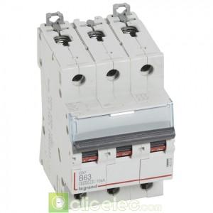 DX3 3P B63 6000A/10KA 407538 Legrand Disjoncteurs PH+N