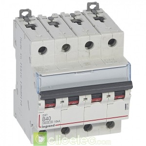 DX3 4P B40 6000A/10KA 407599 Legrand Disjoncteurs PH+N
