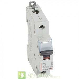 DX3 1P C3 6000A/10KA 407648 Legrand Disjoncteurs PH+N