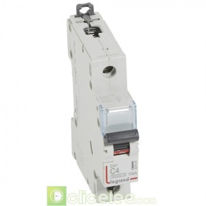 DX3 1P C4 6000A/10KA 407649 Legrand Disjoncteurs PH+N