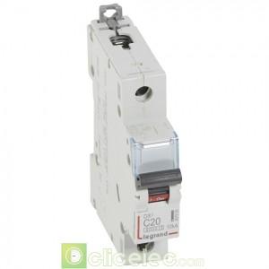 DX3 1P C20 6000A/10KA 407655 Legrand Disjoncteurs PH+N