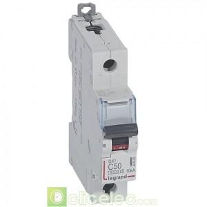 DX3 1P C50 6000A/10KA 407659 Legrand Disjoncteurs PH+N