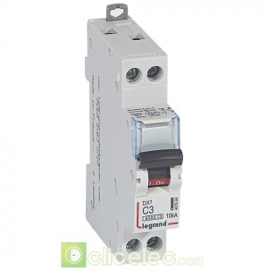 DX3 1P+NG C3 6000A/10KA 407694 Legrand Disjoncteurs PH+N
