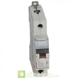 DX3 1P+NG C10 6000A/10KA 407698 Legrand Disjoncteurs PH+N