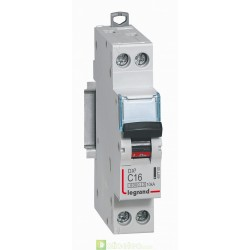 Disjoncteur DX3 1P+NG C16 6000A/10KA 407700 Legrand
