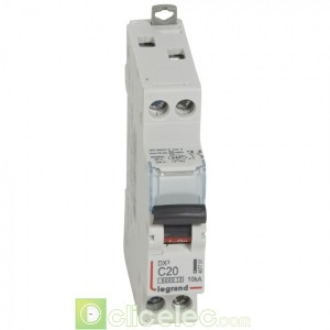 DX3 1P+NG C20 6000A/10KA 407701 Legrand Disjoncteurs PH+N