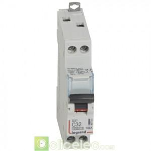 DX3 1P+NG C32 6000A/10KA 407703 Legrand Disjoncteurs PH+N