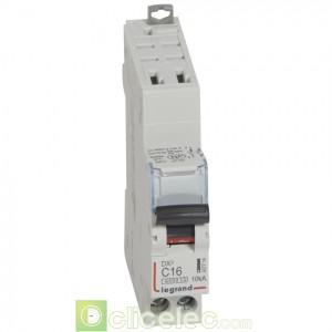 DX3 1P+NG C16 6000A/10KA AUTO 407714 Legrand Disjoncteurs PH+N