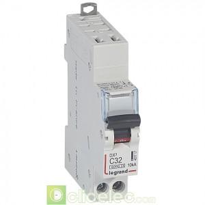 DX3 1P+NG C32 6000A/10KA AUTO 407717 Legrand Disjoncteurs PH+N