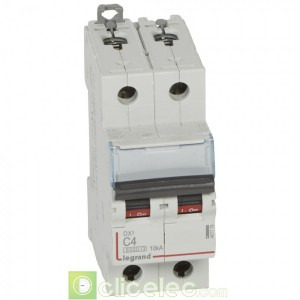 DX3 2P C4 6000A/10KA 407779 Legrand Disjoncteurs PH+N