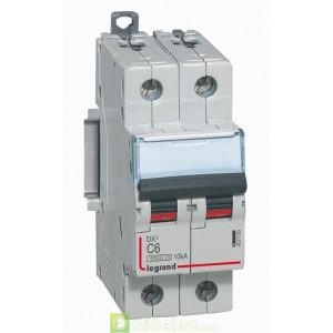 DX3 2P C6 6000A/10KA 407780 Legrand Disjoncteurs PH+N