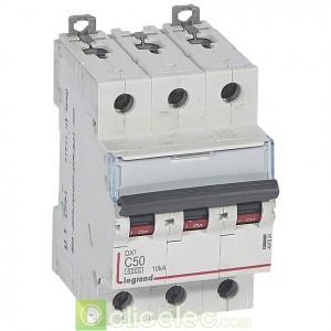 DX3 3P C50 6000A/10KA 407834 Legrand Disjoncteurs PH+N