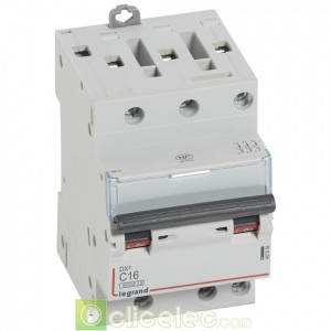 DX3 3P C16 6000A/10KA 3M 407838 Legrand Disjoncteurs PH+N