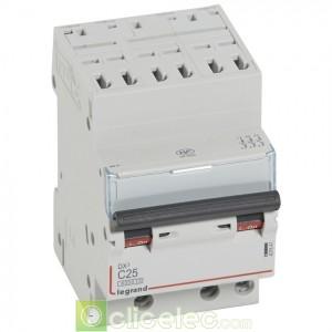DX3 3P C25 6000A/10KA AUTO 407847 Legrand Disjoncteurs PH+N