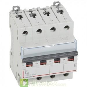 DX3 4P C3 6000A/10KA 407892 Legrand Disjoncteurs PH+N