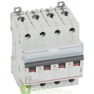 DX3 4P C6 6000A/10KA 407894 Legrand Disjoncteurs PH+N