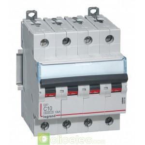 DX3 4P C10 6000A/10KA 407896 Legrand Disjoncteurs PH+N