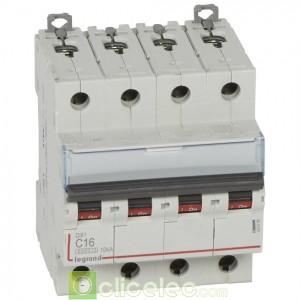 DX3 4P C16 6000A/10KA 407898 Legrand Disjoncteurs PH+N