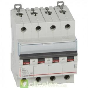 DX3 4P C20 6000A/10KA 407899 Legrand Disjoncteurs PH+N