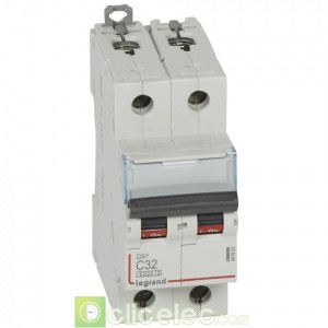 DX3 4P C50 6000A/10KA 407903 Legrand Disjoncteurs PH+N