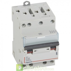 DX3 4P C32 6000A/10KA 3M 407910 Legrand Disjoncteurs PH+N