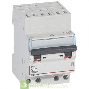 DX3 4P C32 6000A/10KA AUTO 407917 Legrand Disjoncteurs PH+N