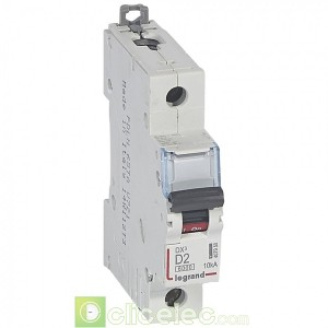 DX3 1P D2 6000A/10KA 407950 Legrand Disjoncteurs PH+N